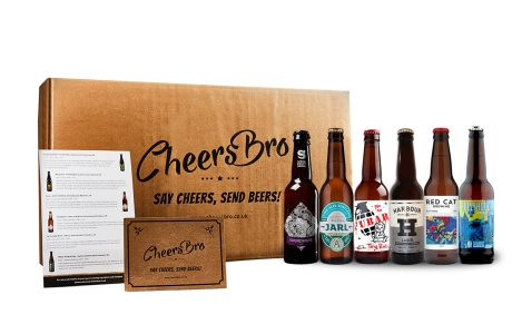 6 light craft beers gift box
