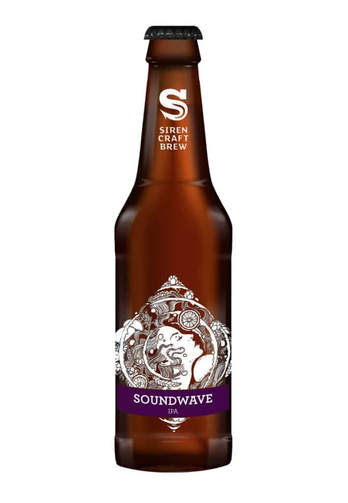 Siren Craft Brew Soundwave beer from Cheers Bro thank you gift box