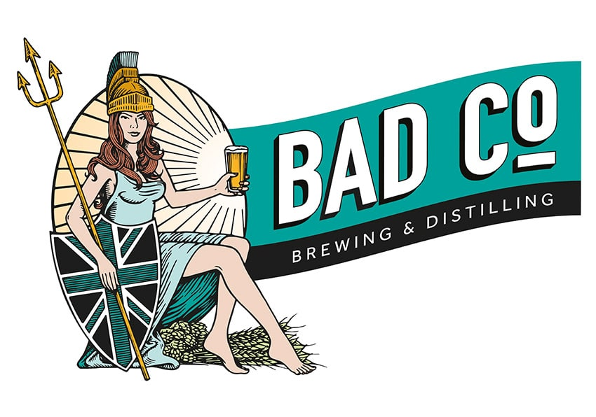 Bad Co Brewery & Distilling working with Cheers Bro