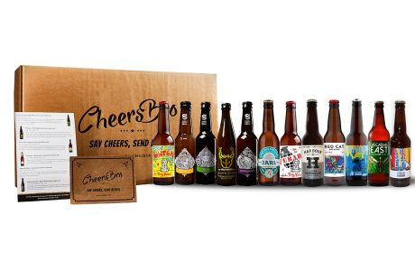 12 light craft beers gift box