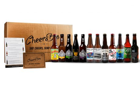 12 mixed craft beers gift box