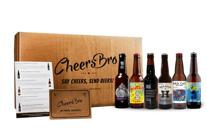 6 mixed craft beers gift box
